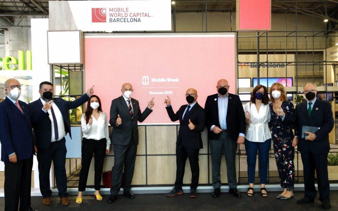 La Diputación y Red Mundo Atlántico se unen para impulsar la 'Mobile Week Ourense'